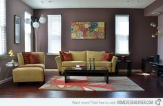 Living Room Paint Ideas | 15 Interesting Living Room Paint Ideas | Home Design Lover