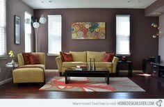 Living Room Paint Ideas   15 Interesting Living Room Paint Ideas   Home Design Lover