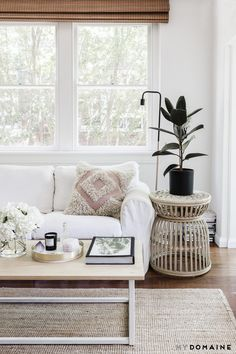 MYDOMAINE AUSTRALIA: Where is the house located? LP: It's in Bondi Beach, just a couple of blocks back from the ocean. MD: What do you love about the area? LP: The thing I love most about...