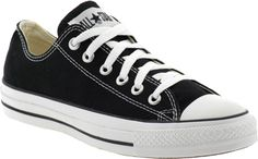 "Katie Couric's Shoe Picks Converse Chuck Taylors ""These were made for a weekend outfit jeans, tee, pearls & my hair in a ponytail."""