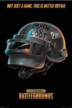 PUBG Born To Loot Maxi Poster