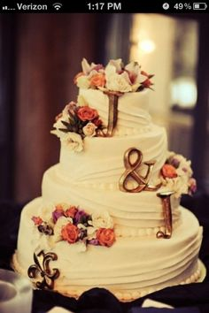 Instead of cake topper : )