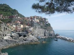It's one of the 5 villages in Cinque Terre, Italy.