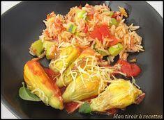 Mon tiroir à recettes - Blog de cuisine: Fleurs de courgette farcies au chèvre Cabbage, Vegetables, Food, Stuffed Zucchini, Drawer, Recipes, Essen, Cabbages, Vegetable Recipes