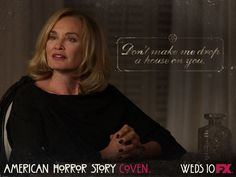 American Horror Story Coven.... ......We like her....