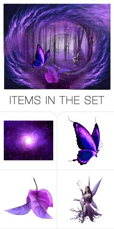"""""""Pixie Portal"""" by lazer-blade ❤ liked on Polyvore featuring art"""