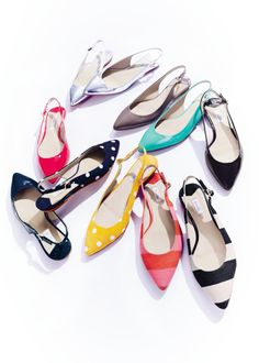 We're dotty for these spring slingbacks. #boden #ss14 #londontales