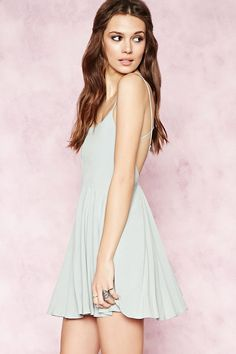 Crisscross-Back Cami Dress | Forever 21 - 2000151438