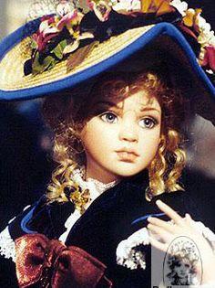 Фарфоровая кукла - Элиза