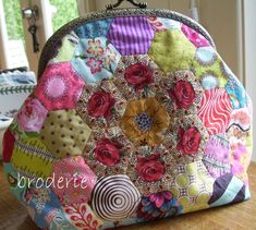 Broderie - Brigitte Giblin Purse Side 1