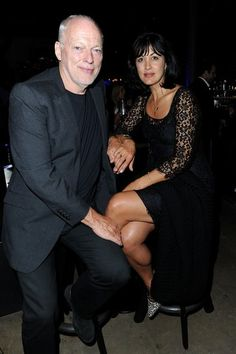 David Gilmour and Polly Gilmore Photo - Joseph Anton Memoir Book Launch
