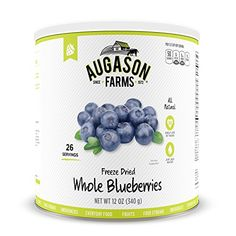 Augason Farms Freeze Dried Whole Blueberries 10 Can 12 oz * Find out more about the great product at the image link.