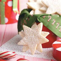 Snow Flurries Recipe from Taste of Home -- shared by Mary Ann Ludwig of Edwardsville, Illinois  #Cookie