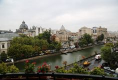 Dambovita River in Bucharest, Capital of Romania Capital Of Romania, Bucharest, Old Town, Minimalism, Old Things, River, Living Room, Design, Old City