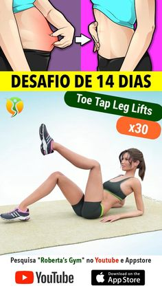 Full Body Gym Workout, Gym Workout Videos, Gym Workout For Beginners, Fitness Workout For Women, Sport Fitness, Gym Workouts, Band Workout, Workout Challenge, Exercise