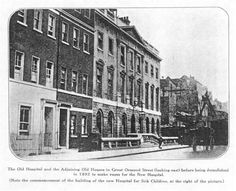 The Old Hospital and the Adjoining Old Houses in Great Ormond Street