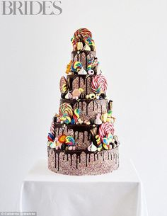 The Sweetie Shop By Georgia's Cakes, £1,470 (serves 210), georgias-cakes.co.uk...
