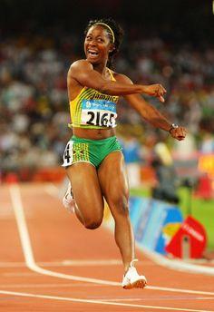 Shelly Ann Fraser - Athletics ~ Beijing 2008 - Womens 100m