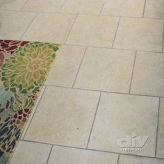 Remove and Replace Dirty Grout