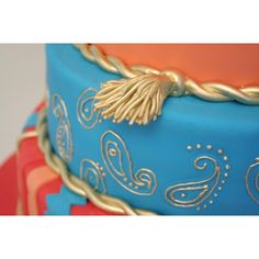 Moroccan Birthday Cake cakepins.com