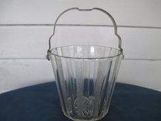 Vintage Art Deco Barware Ice Bucket Vintage Anchor by BitofHope