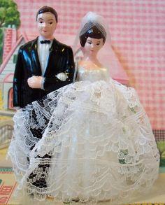 Love is Sweet / Sale / Vintage / Wedding Cake Topper / Bride and Groom / DIY / Bridal Shower Cake Decoration