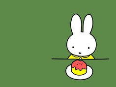 Dessert is the one thing that never lets Miffy down.