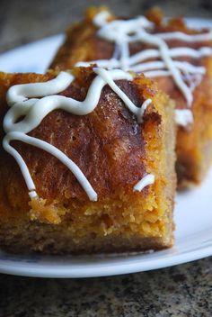 Pumpkin Pie Snickerdoodle Bars
