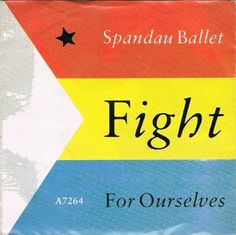 "Spandau Ballet - Fight For Ourselves (Vinyl 7"") 1986 Portugal"