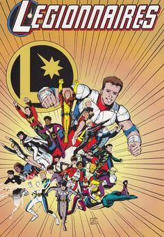 Love me some Chris Sprouse Legion art. Spot the Matter-Eater Lad!