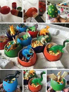 Creative Halloween Costumes - The Best Way To Be Artistic Over A Budget Diy Hurvos De Dinosaurios Third Birthday, 4th Birthday Parties, Birthday Party Decorations, Birthday Ideas, Themed Parties, Jurassic Park Party, Dinosaur Birthday Cakes, Dinosaur Party Favors, Baby Party