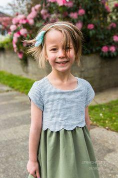 Sullivan Dress - Straight Stitch Designs