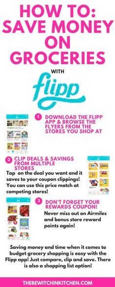 Want to save more money on groceries? Here is how to use the Flipp app for savin… Want to save more money on groceries? Here is how to use the Flipp app for saving money and time when it comes to all of your shopping needs. Budget Meal Planning, Budget Meals, Budget App, Money Tips, Money Saving Tips, Saving Time, Saving Ideas, Extreme Couponing, Couponing Apps
