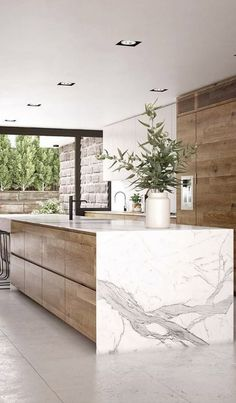 Kitchen Room Design, Modern Kitchen Design, Home Decor Kitchen, Interior Design Kitchen, Kitchen Furniture, New Kitchen, Kitchen Ideas, Kitchen Size, Kitchen Chandelier