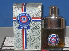 British Sterling Cologne - my dad's favorite cologne, he always wore it...whenever i smell this it reminds me of him
