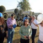 Lucía gestiona nuevas obras para Catamarca