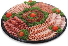 My arme skoonma is nie meer met ins nie maar sy sou die grappie geniet. Meat Cheese Platters, Meat Trays, Meat Platter, Food Platters, Sandwich Buffet, Appetizer Buffet, Meat Restaurant, Cold Cuts, Catering