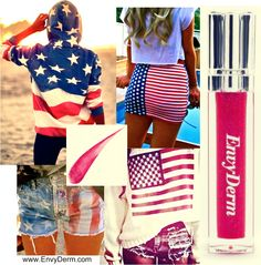 4th of July ready with EnvyDerm  www.EnvyDerm.com