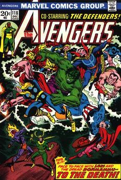 My first Avenger's comic. Came out of the trunk of an uncle's car, no cover. Blew open my world. Goodbye Archies and Richie Rich, hello Marvel Universe.