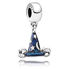 Pandora Disney Parks Exclusive Mickey's Sorcerer's Hat Charm #Pandora