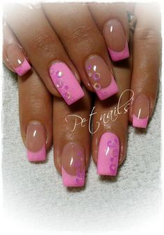 Nail Art #french #tips