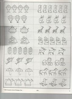 Discover recipes, home ideas, style inspiration and other ideas to try. Mini Cross Stitch, Cross Stitch Borders, Cross Stitch Animals, Cross Stitch Charts, Cross Stitching, Cross Stitch Patterns, Blackwork Patterns, Blackwork Embroidery, Cross Stitch Embroidery