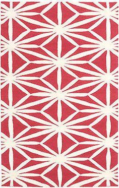 """Area Rug Carpet 5'0"""" x 8'0"""" Baroque Casual Cream, Red Rug - http://home-garden.goshoppins.com/rugs-carpets/area-rug-carpet-50-x-80-baroque-casual-cream-red-rug/"""