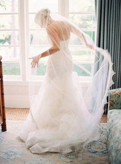 beautiful veil... #wedding #bride #weddingdress