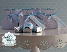 Something Blue :: Wedding Favors - Doxie Mel Designs Blue Wedding Favors, Wedding Candy, Wedding Invitations, Valentine Bingo, Something Blue Wedding, Oragami, Perfect Match, Party Favors, Project Ideas