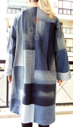 patchwork coat, 2017