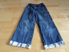 Shirt saves jeans / Shirt rettet Jeans / Upcycling