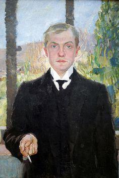 Max Beckmann (German, 1884-1950): Self-Portrait  - Google Search