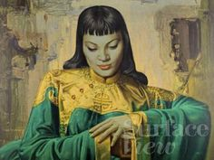 Lady of the orient by Vladimir Trechikoff