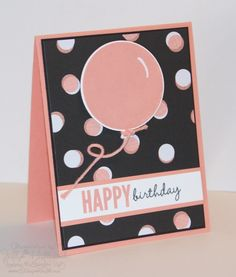 Jill's Card Creations: Birthday, Video Photopolymer Tips and More !
